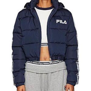 Fila Cropped Puffer Adelina Jacket